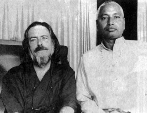 SiteFiles/photos/Swami Venkatesananda With Alan Watts