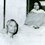 Swami Venkatesananda with Sri Anandamayi Ma